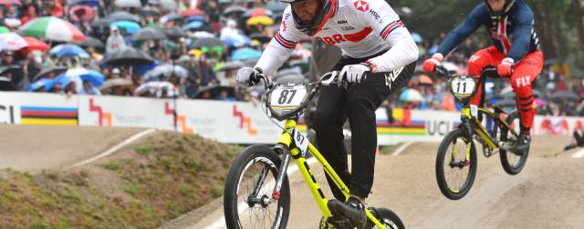 Great Britain Cycling Team shine in the rain at BMX World Championships