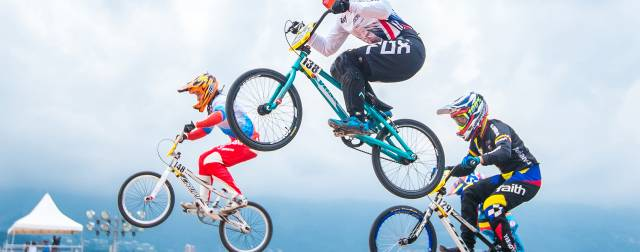 Time trial silver for Shriever at BMX worlds