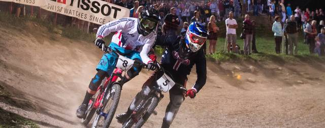 Luke Cryer wins UCI Four cross Mountain Bike World Championships bronze for Great Britain