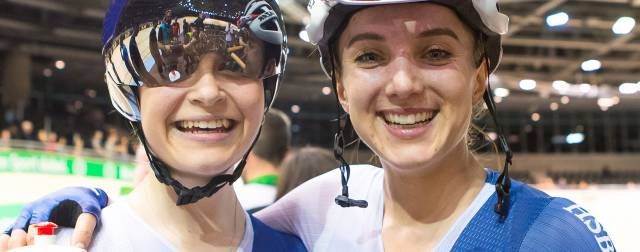 GB's Barker and Dickinson win dramatic European Madison gold