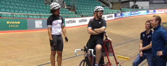 The Blue Peter track cycling challenge: Part one