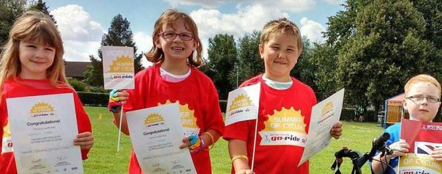 Summer of Cycling gets 8,000 youngsters out riding