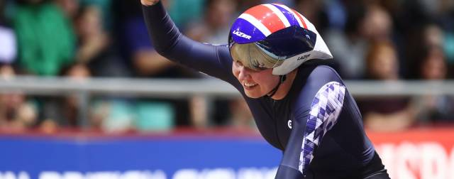 Champions crowned on day one of HSBC UK | National Track Championships