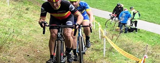 Round 6 at Trehafren sees Lactic Ladder become a highly anticipated element to a fast Cyclocross course.