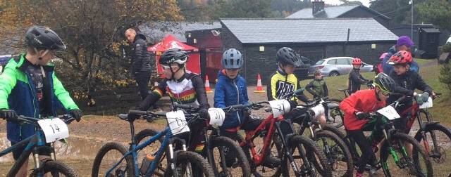 Wet and muddy, a perfect end to the Go Race MTB Series in Nant BH.