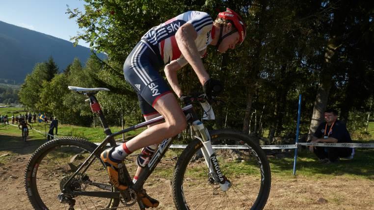 Grant Ferguson mountain biking