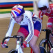 Jessica Roberts' silver gets Great Britain off the mark at the Junior Track Cycling World Championships