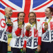 Elinor Barker shatters world record and wins Olympic gold as part of Team GB team pursuit quartet