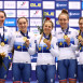 Two Gold and a Bronze on day two of the UEC European Track Championships in Plovdiv