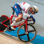 Ethan Hayter Secures Top-Five Finish in the Men's Points Race at UEC European Track Championships