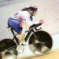 Great Britain Cycling Team in action at the Ghent Six Day