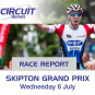 Hennessy victorious in the Skipton Grand Prix in British Cycling Elite Circuit Series