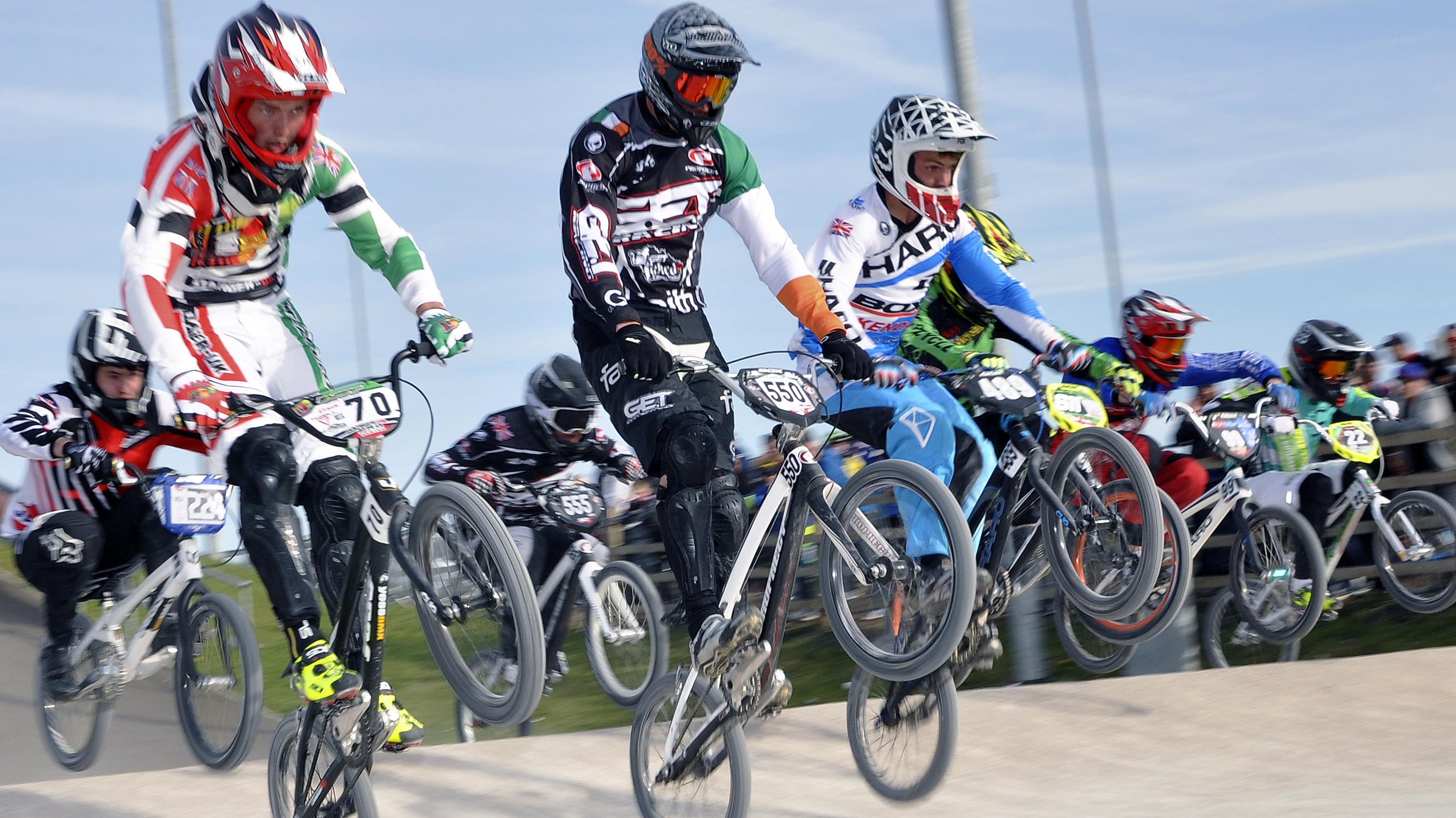 Burnham BMX Club's Ryan Stack has put some space between himself and second-place Jacob Roberts with an excellent two days in Kent at rounds three and four.