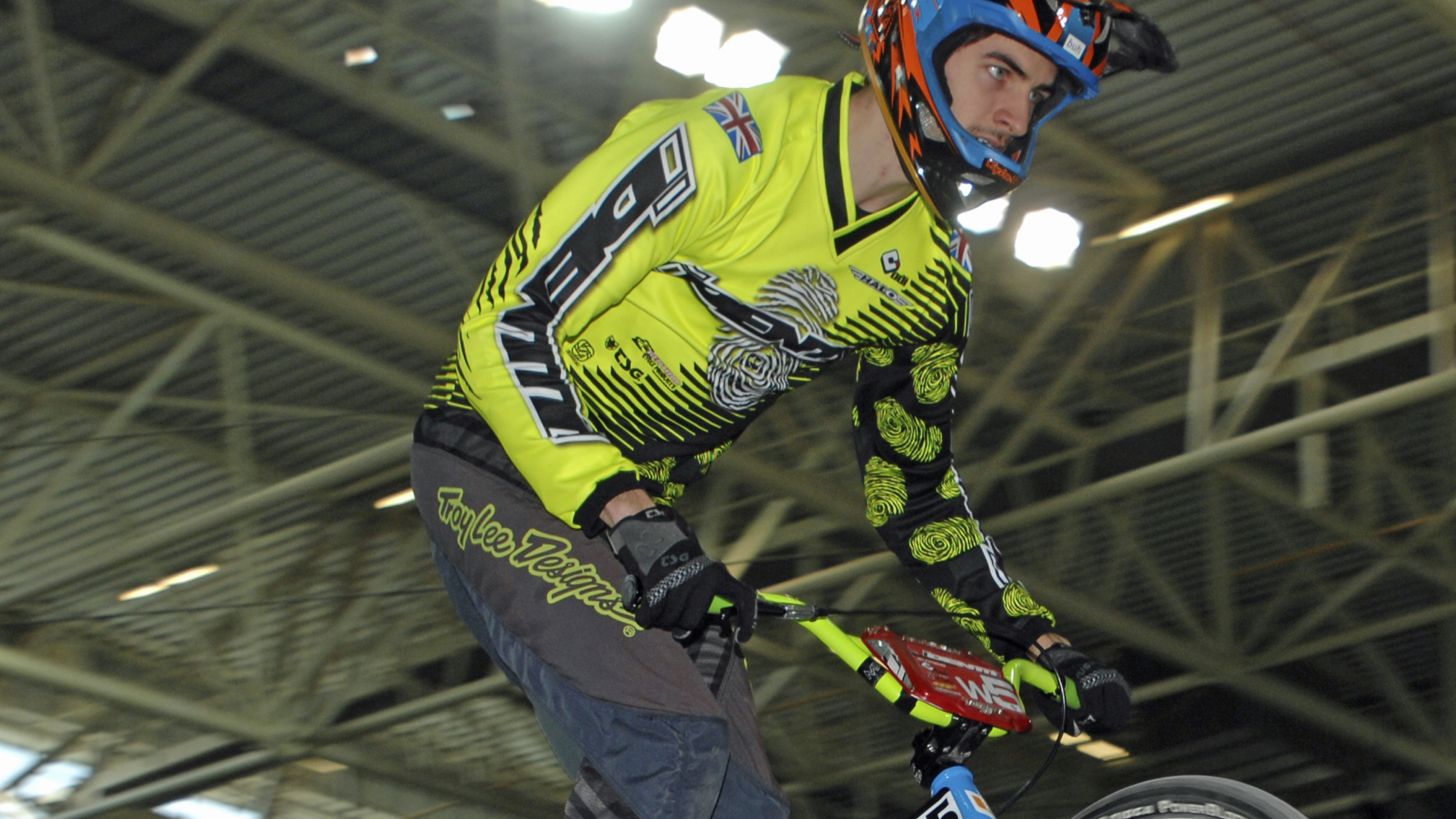 Braintree BMX Racing Club's Oliver Cutmore holds an early advantage in the standings thanks to third and second place finishes respectively at rounds one and two in Manchester.