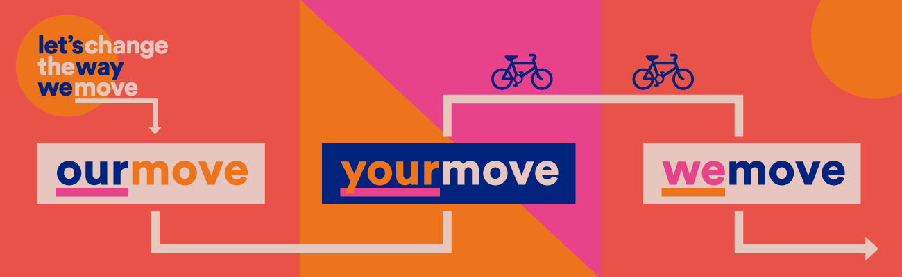 Let's Change The Way We Move Move campaign banner