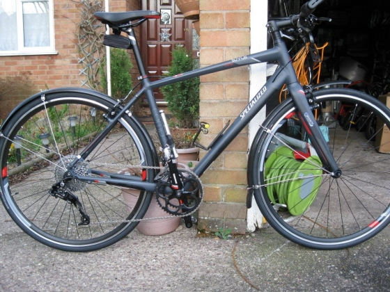Rob Masters' Specialized Sirrus commuter bike