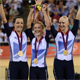 Dani King, Joanna Rowsell and Laura Trott