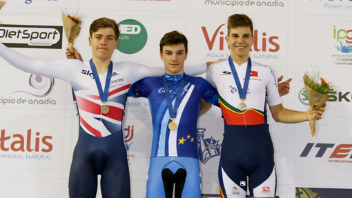 Gabriel Cullaigh and Oliver Wood added two silver medals to Great Britain's tally at the UEC Junior and Under-23 European Track Championships on Friday.