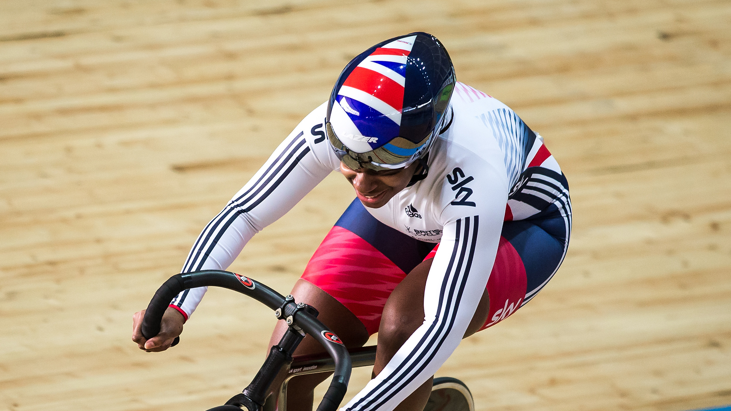 Great Britain Cycling Team's Kadeena Cox