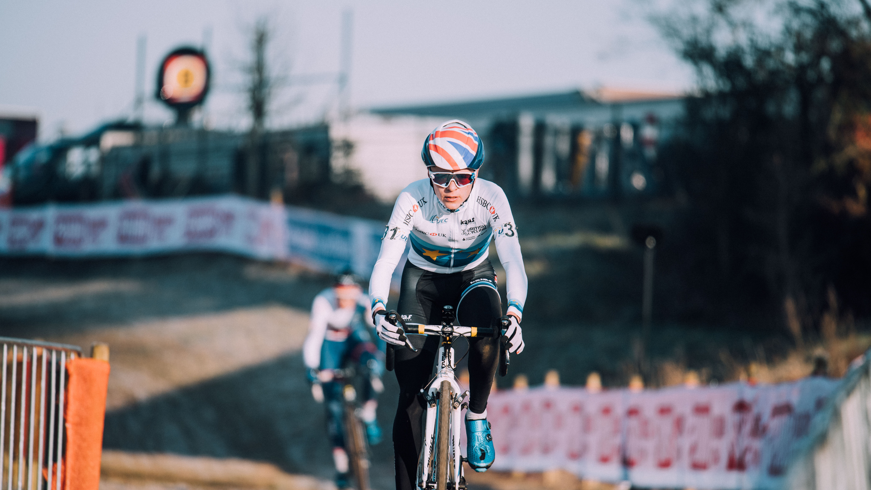 British and European cyclo-cross junior men's champion Tom Pidcock