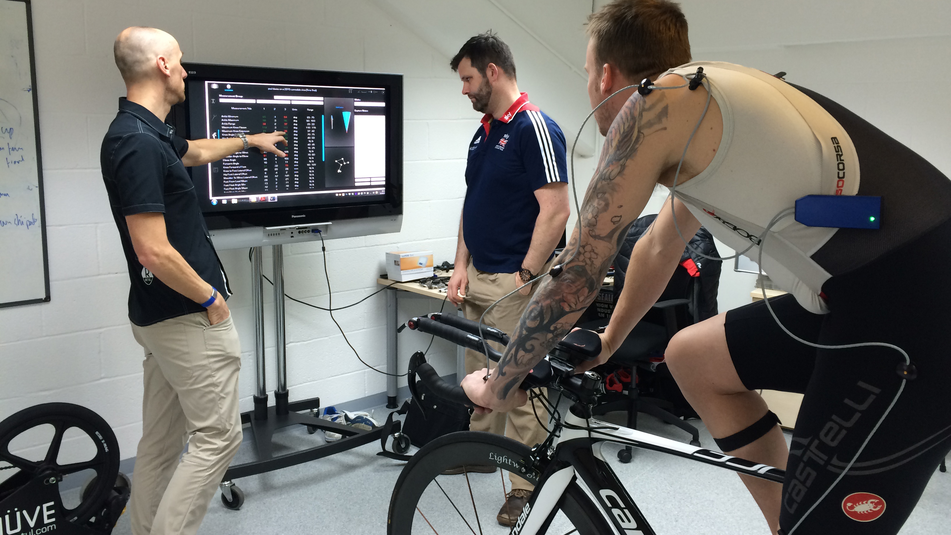 Paul joined the experts at the National Cycling Centre in Manchester