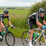Bradley Wiggins and Geraint Thomas