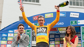 Sir Bradley Wiggins won the 2013 Tour of Britain