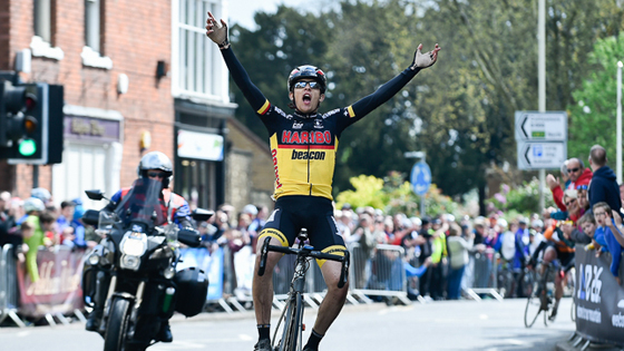 British Cycling National Junior Series leader James Shaw (Haribo Beacon) took victory in the Junior CiCLE Classic on Sunday.