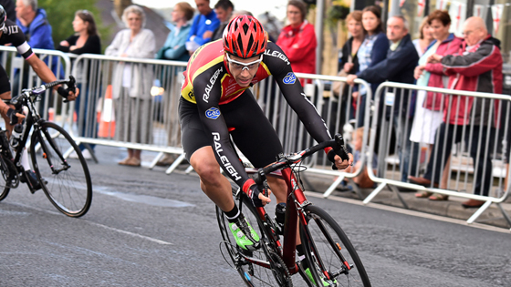 Alexandre Blain leads the series by ten points ahead of the final round in Wales.