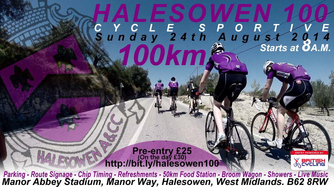 Halesowen 100 poster