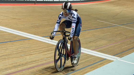 Sophie Capewell claimed a fourth gold medal as the 2014 British Cycling National Youth and Junior Track Championships concluded on Friday.